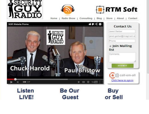 Press Release – Imagine IT Web Design & SEO announces the launch of www.SecurityRadioGuy.com